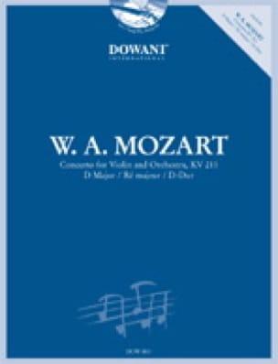 Concerto Violon ré majeur KV 211 - MOZART - laflutedepan.com