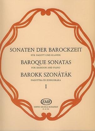 Sonates Baroques, Volume 1 Partition Basson - laflutedepan