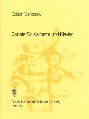 Sonate für Klarinette und Klavier Edison Denisov laflutedepan
