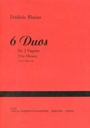 Frédéric Blasius - 6 Duos - Partition - di-arezzo.com