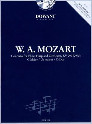 Concerto en ut majeur KV 299 297c MOZART Partition laflutedepan