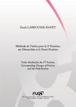 Méthode de Violon pour la 5ème position, ses Démanchés et la Demi-Position laflutedepan