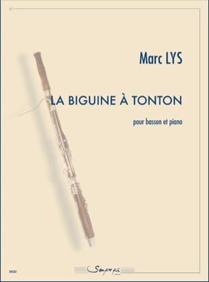 La Biguine à Tonton Marc Lys Partition Basson - laflutedepan