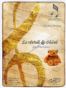 Le réveil de Chloé - Sébastien Boudria - Partition - laflutedepan.com