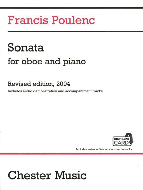 Sonate + Download Card - Hautbois et piano - laflutedepan.com