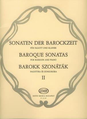 Sonaten der Barockzeit - Bd. 2 Hara Laszlo / Nagy Oliver laflutedepan