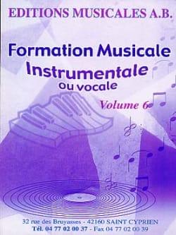 FM instrumentale ou vocale, Volume 6 Ab Partition laflutedepan