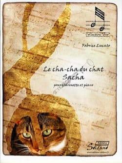 Le Cha-cha du chat Sacha Fabrice Lucato Partition laflutedepan