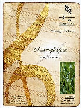 Dominique Patteyn - Chlorophylle - Partition - di-arezzo.fr