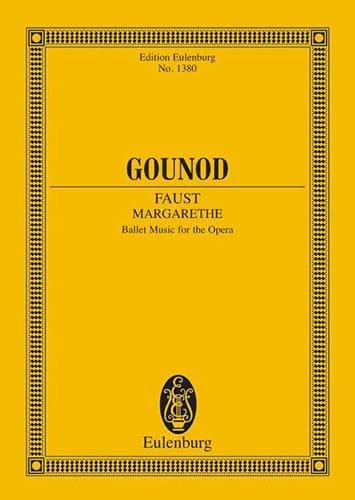 Margarethe Faust - GOUNOD - Partition - laflutedepan.com