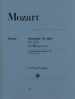 Sérenade en Mi bémol majeur K. 375 pour 2 clarinettes, 2 cors et 2 bassons laflutedepan