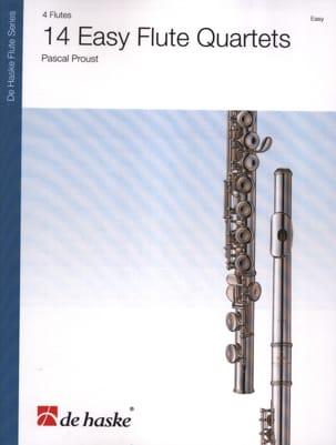 14 Easy Flute Quartets Pascal Proust Partition laflutedepan
