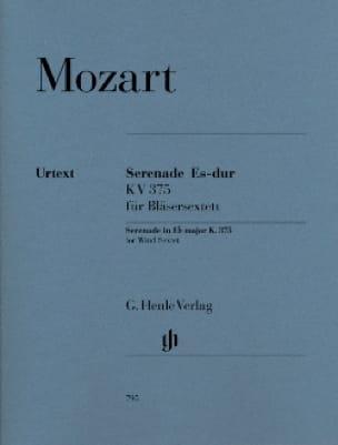 Sérenade en Mi bémol majeur K. 375 pour 2 clarinettes, 2 cors et 2 bassons - laflutedepan.com