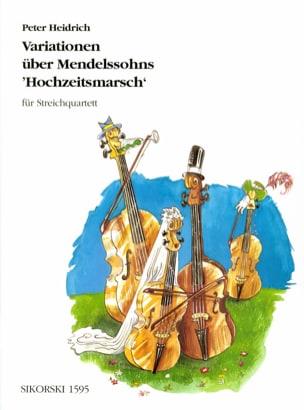 Variationen über Mendelssohns Hochzeitsmarsch - Streichquartett laflutedepan
