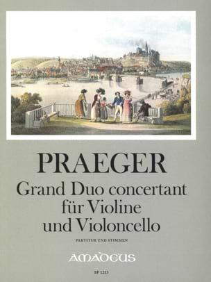 Grand duo concertant für Violine und Violoncello op. 41 laflutedepan