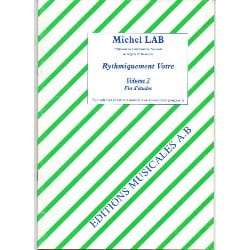 Michel Lab - Rhythmically yours - Volume 2 - Partition - di-arezzo.co.uk