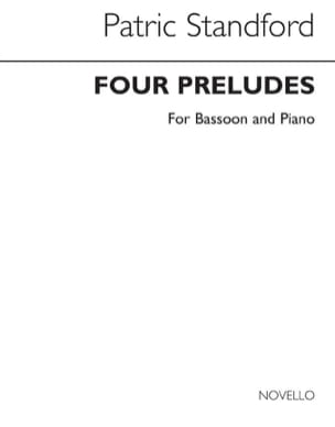 Four Preludes - Patric Stanford - Partition - laflutedepan.com