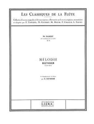Mélodie - Flûte et piano BEETHOVEN Partition laflutedepan