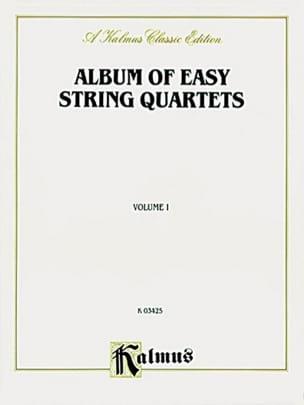 Album of easy String Quartets, Volume 1 laflutedepan