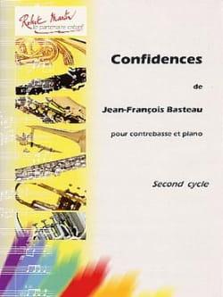 Confidences Jean-François Basteau Partition Contrebasse - laflutedepan