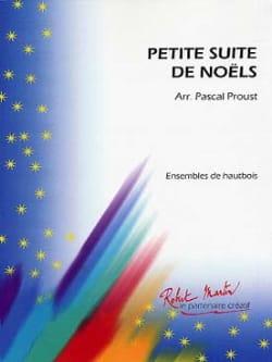 Petite Suite De Noëls Pascal Proust Partition Hautbois - laflutedepan