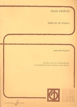 Suite en ré mineur - Alto - Marin Marais - laflutedepan.com