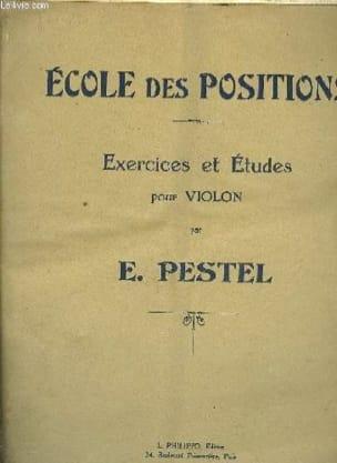 Ecole des positions E. Pestel Partition Violon - laflutedepan