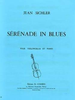 Sérénade in Blues Jean Sichler Partition Violoncelle - laflutedepan
