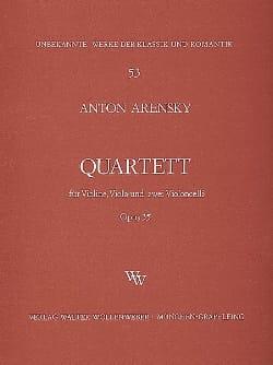Quartett a-moll op. 35 -Violine, Viola, 2 Violoncelli laflutedepan