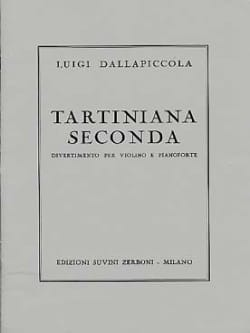 Tartiniana Seconda Luigi Dallapiccola Partition Violon - laflutedepan