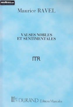 Valses Nobles et Sentimentales - Conducteur RAVEL laflutedepan