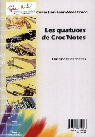Les quatuors de Croc'notes Jean-Noël Crocq Partition laflutedepan