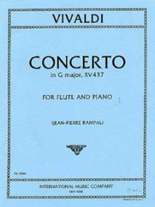 Concerto in G major F. 6 n° 16 - Flute piano - laflutedepan.com