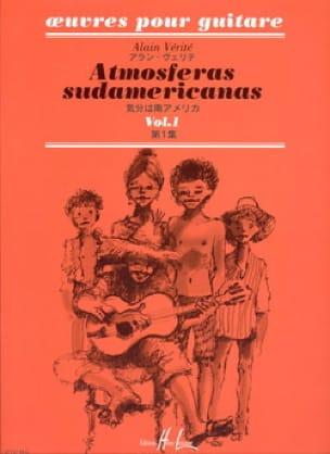 Atmosferas Sudamericanas - Volume 1 - Alain Vérité - laflutedepan.com