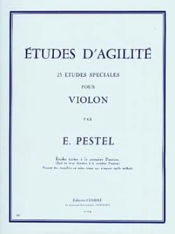 Etudes d'Agilité E. Pestel Partition Violon - laflutedepan