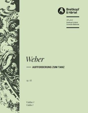 Aufforderung zum Tanz Carl M von Weber Partition laflutedepan