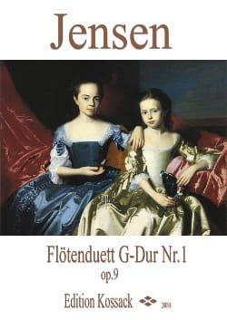Duo Pour Flûtes Op.9 N°1 en Sol Majeur Niels Peter Jensen laflutedepan