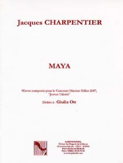 Maya - CHARPENTIER - Partition - Harpe - laflutedepan.com
