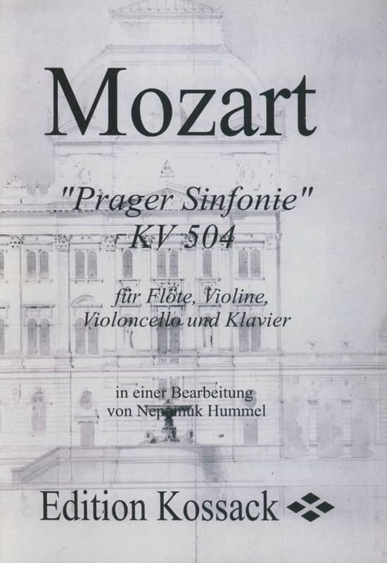 Prager Sinfonie KV 504 Stimmen -Flöte Violine Violoncello Klavier - laflutedepan.com