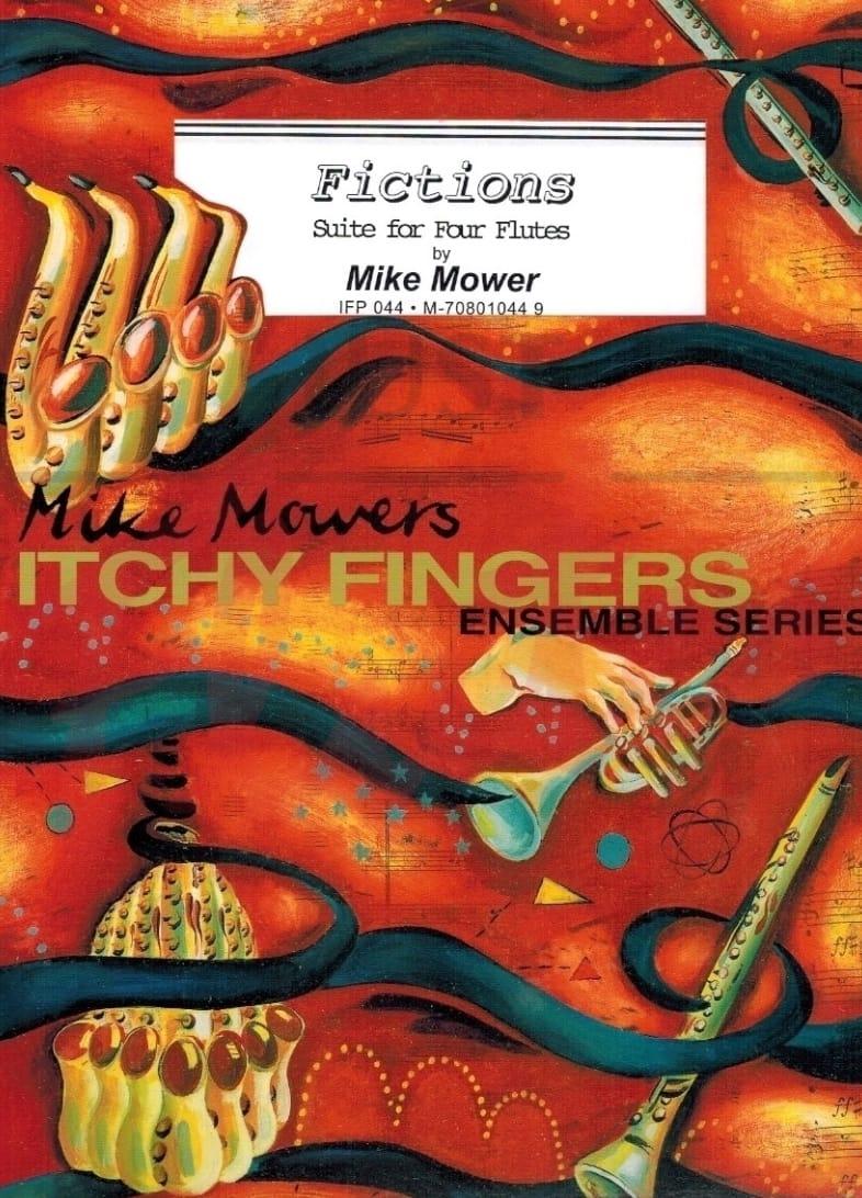 Fictions - Mike Mower - Partition - laflutedepan.com