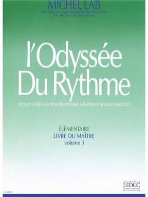 L'odyssée du Rythme Volume 3 - Maître - Michel Lab - laflutedepan.com