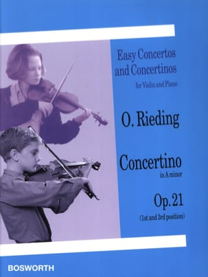 Oskar Rieding - Concertino op. 21 in La minore - Partition - di-arezzo.it