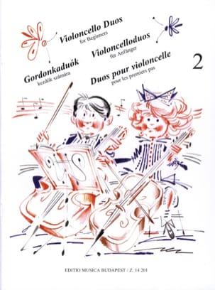 Duos pour Violoncelle pour les 1ers Pas Volume 2 laflutedepan