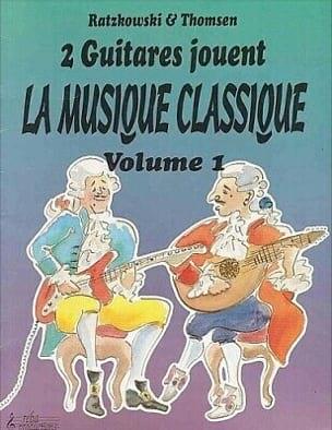 2 Guitares jouent la musique classique - Volume 1 laflutedepan