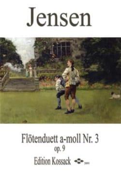 Duo Pour Flûtes Op.9 N°3 en la Mineur Niels Peter Jensen laflutedepan