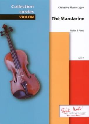 Thé mandarine - Christine Marty-Lejon - Partition - laflutedepan.com