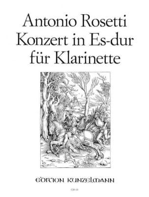 Konzert für Klarinette Es-Dur - Klarinette Klavier laflutedepan