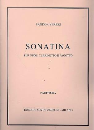 Sonatina Oboe, clarinetto, fagotto Sandor Veress laflutedepan
