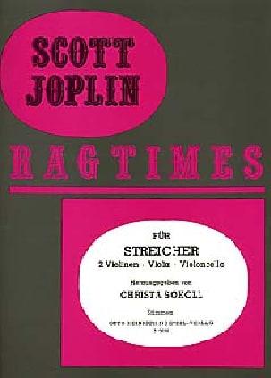 Ragtimes für Streicher - Quartett JOPLIN Partition laflutedepan