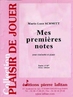 Mes premières notes Marie-Luce Schmitt Partition laflutedepan